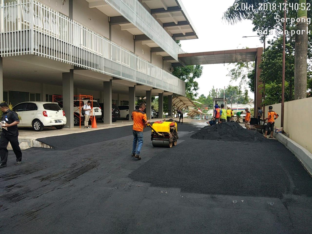 Jasa Perbaikan Jalan Aspal Hotmix
