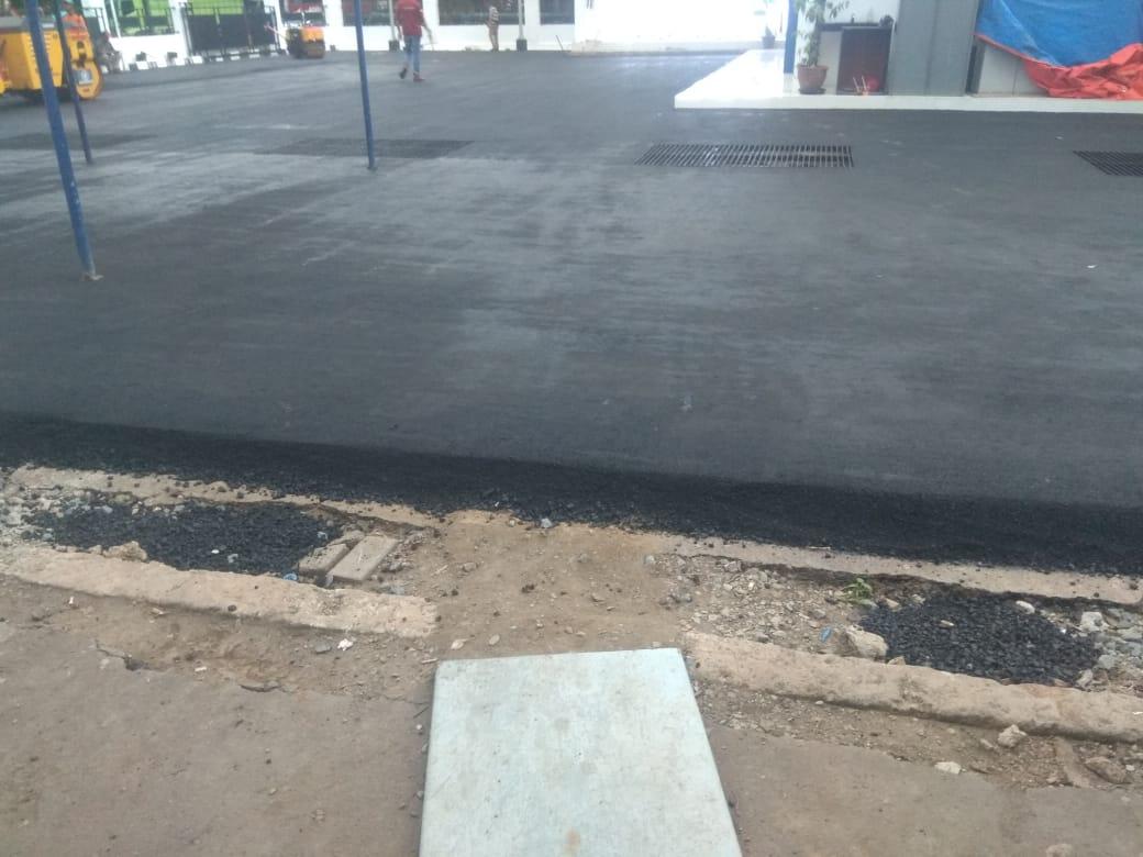 Jasa biaya aspal jalan per meter Bpk.Tukul Sutrisno - 082112999002